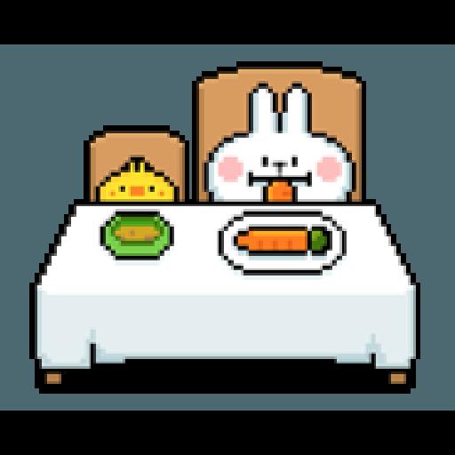 Spoiled Rabbit Dot - Sticker 15
