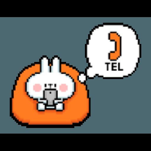 Spoiled Rabbit Dot - Sticker 20
