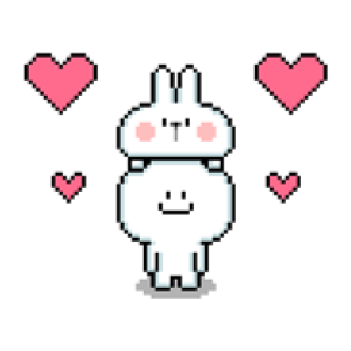 Spoiled Rabbit Dot - Sticker 11