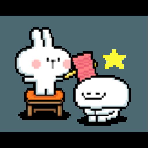 Spoiled Rabbit Dot - Sticker 22