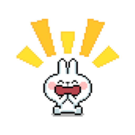 Spoiled Rabbit Dot - Sticker 3