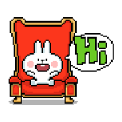 Spoiled Rabbit Dot - Sticker 5