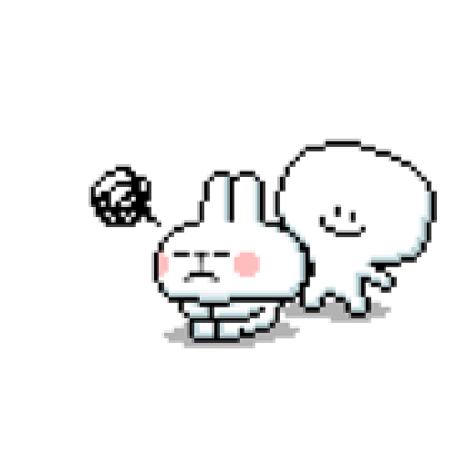 Spoiled Rabbit Dot - Sticker 7