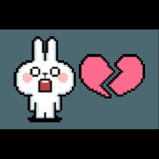 Spoiled Rabbit Dot - Sticker 23