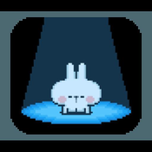 Spoiled Rabbit Dot - Sticker 21