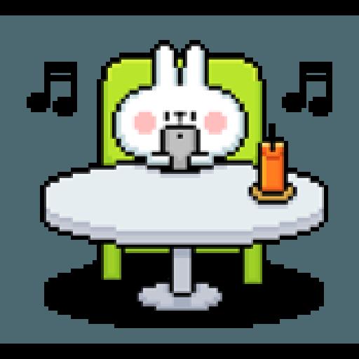 Spoiled Rabbit Dot - Sticker 24