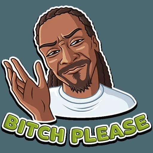 Snoop Dogg - Sticker 7
