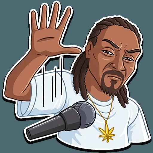Snoop Dogg - Sticker 12