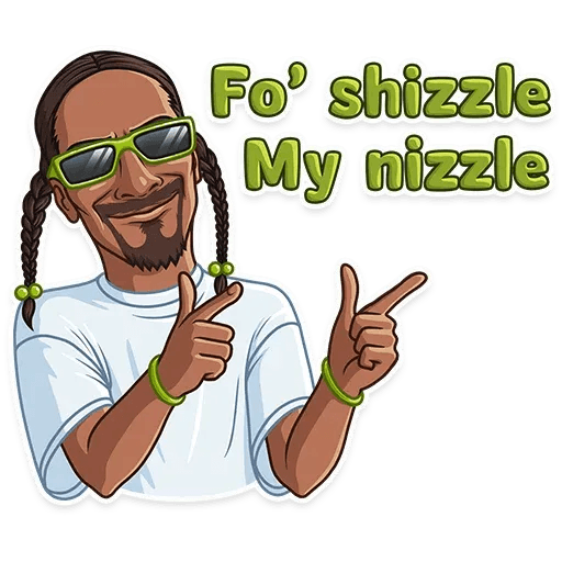Snoop Dogg - Sticker 15
