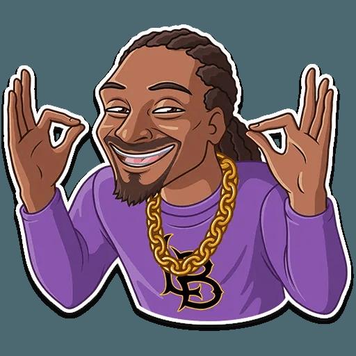 Snoop Dogg - Sticker 6