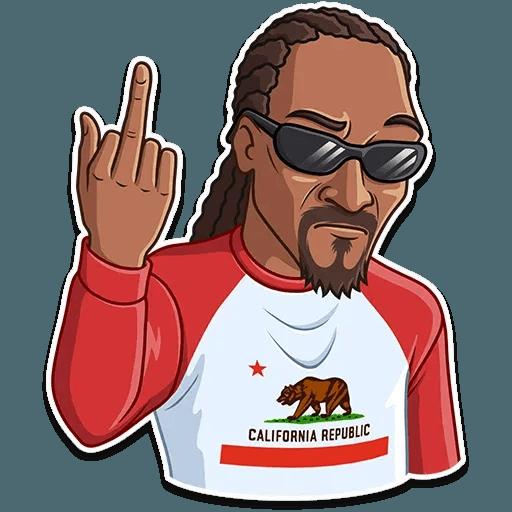 Snoop Dogg - Sticker 9