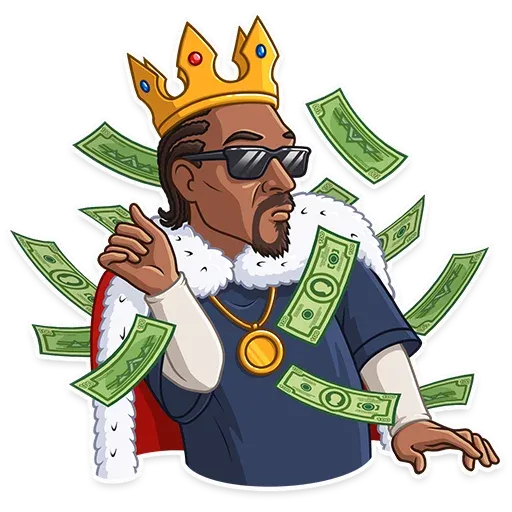Snoop Dogg - Tray Sticker