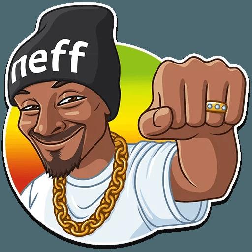 Snoop Dogg - Sticker 17
