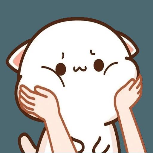 Mochi cat - Sticker 15
