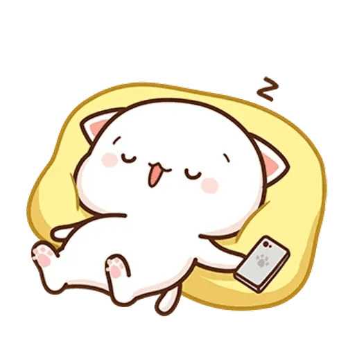 Mochi cat - Sticker 29