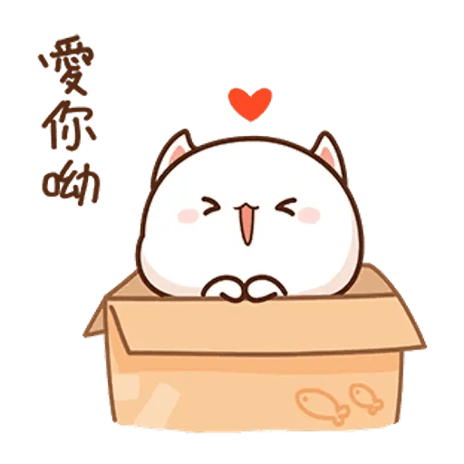 Mochi cat - Sticker 23