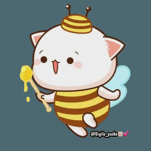 Mochi cat - Sticker 28