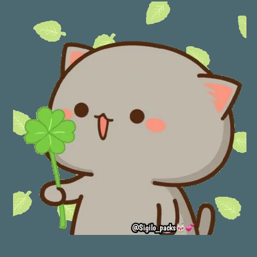 Mochi cat - Sticker 26