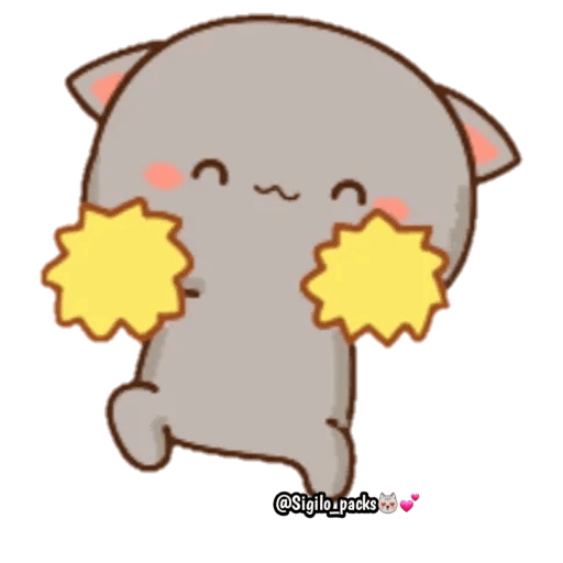 Mochi cat - Sticker 27