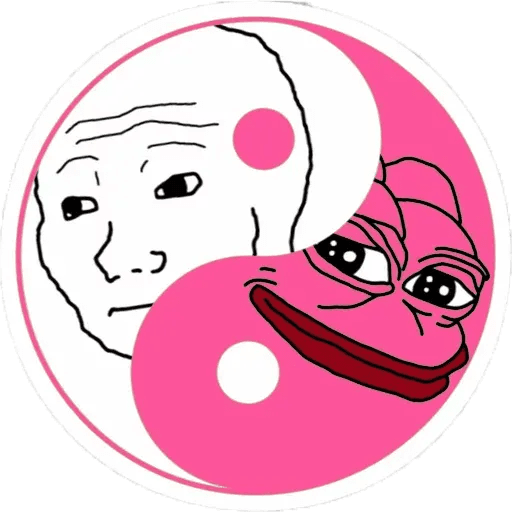 Pink Pepe 4 - Sticker 17