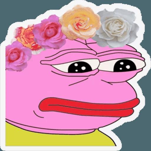 Pink Pepe 4 - Sticker 13