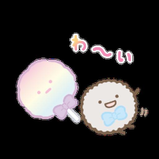 Sumikkogurashi Tapioca Park - Sticker 17