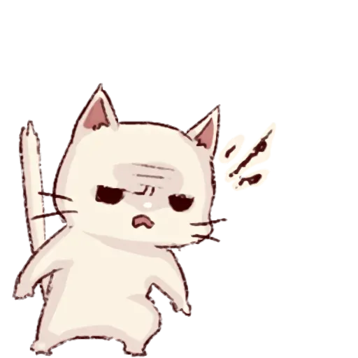 Frown cat - Sticker 16