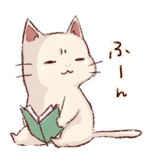 Frown cat - Sticker 6