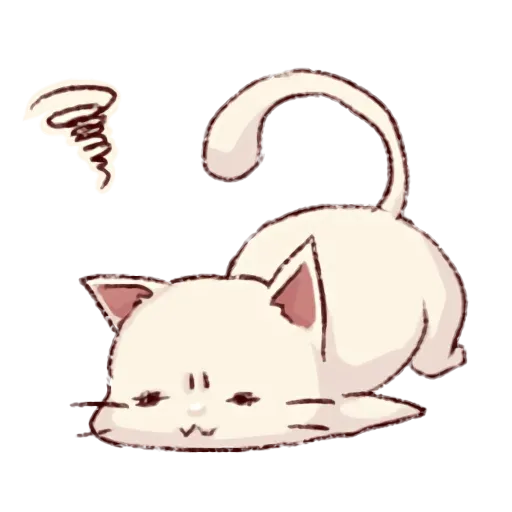 Frown cat - Sticker 2