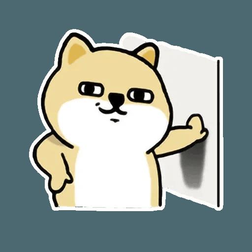 小肥柴3 - Sticker 30