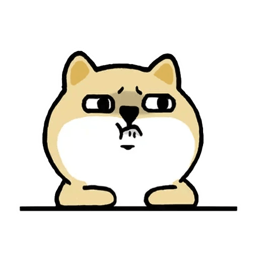 小肥柴3 - Tray Sticker