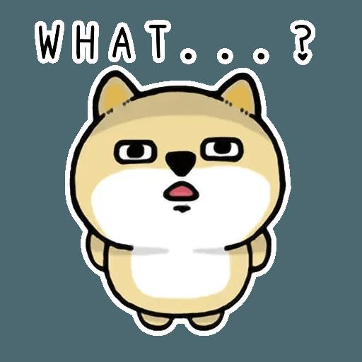 小肥柴3 - Sticker 29