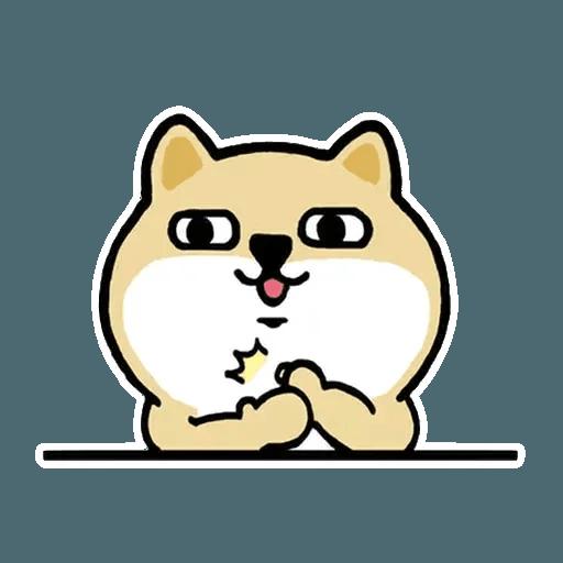 小肥柴3 - Sticker 13