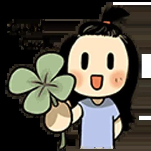 Smile girl - Sticker 4