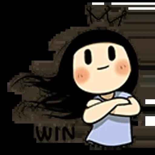Smile girl - Sticker 5