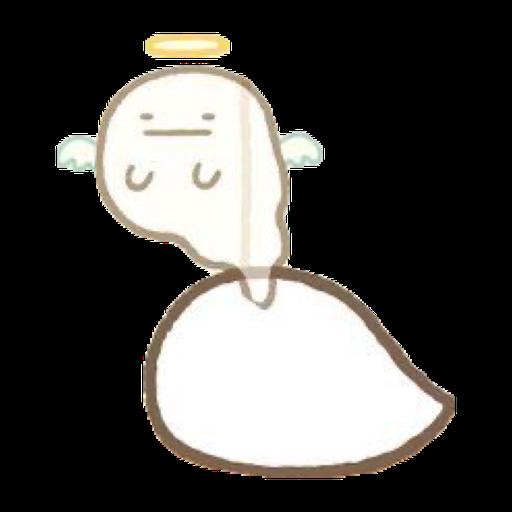 角落生物的- 白熊 - Sticker 2