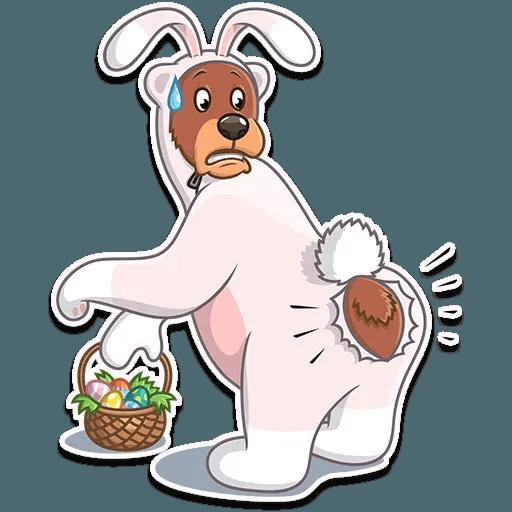Easter Bear - Sticker 16