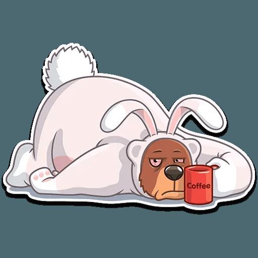 Easter Bear - Sticker 5