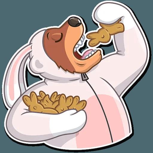 Easter Bear - Tray Sticker