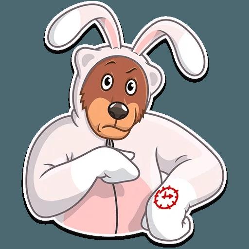 Easter Bear - Sticker 28