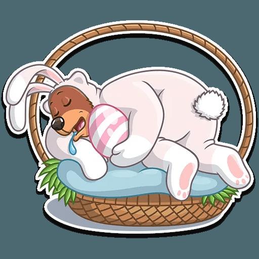 Easter Bear - Sticker 6