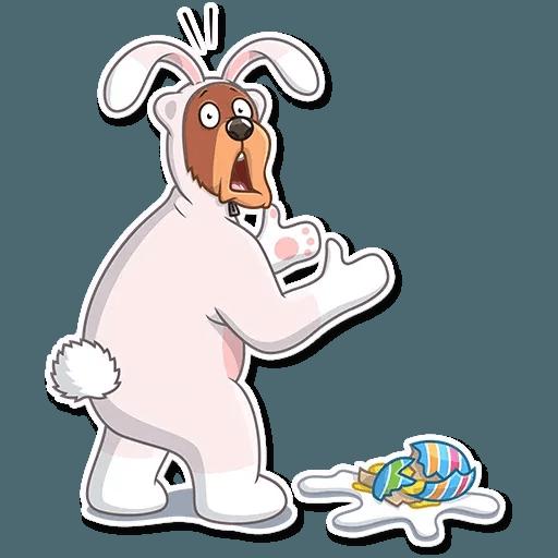 Easter Bear - Sticker 10