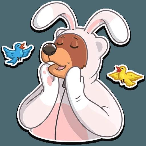 Easter Bear - Sticker 17