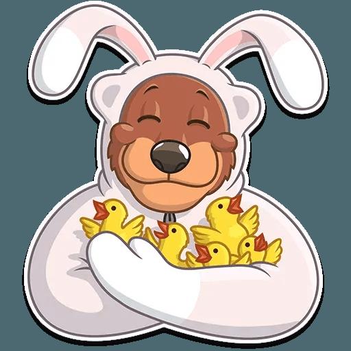 Easter Bear - Sticker 13