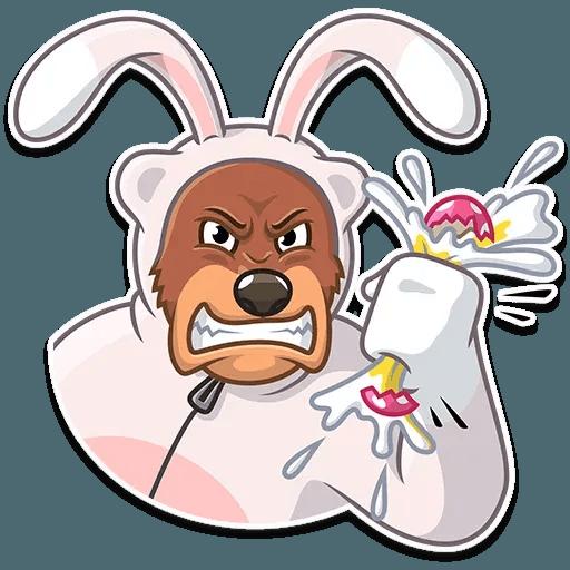 Easter Bear - Sticker 9