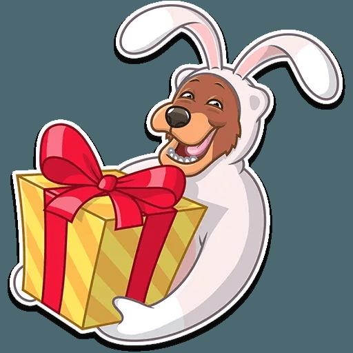Easter Bear - Sticker 23