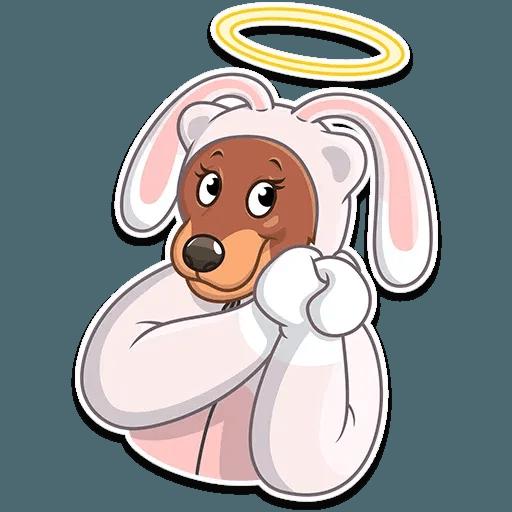 Easter Bear - Sticker 29