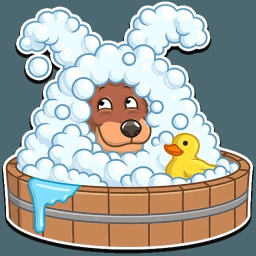 Easter Bear - Sticker 3