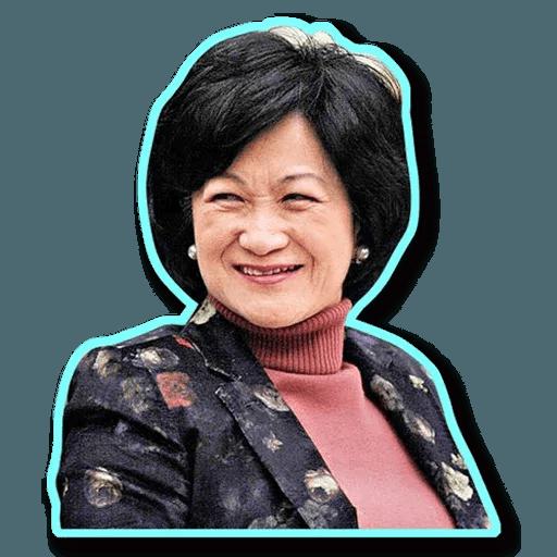 stupid hk blue - Sticker 18
