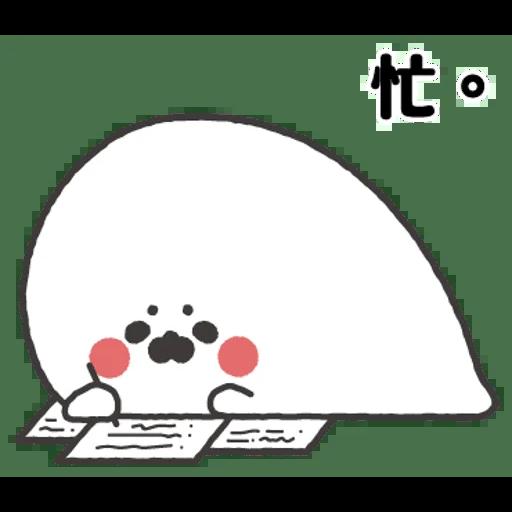 小海豹 - Tray Sticker